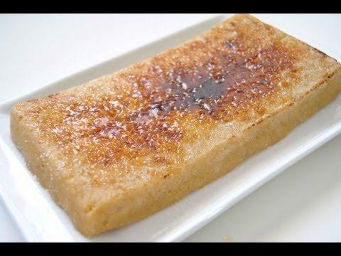 Turron de yema tostada - Recetas de cocina