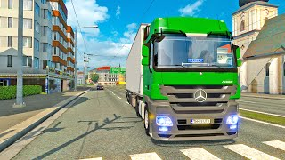 Mercedes MP3 Actros ETS2 (Euro Truck Simulator 2)