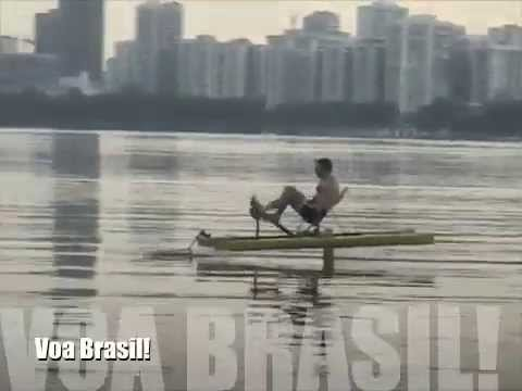 Human Powered Hydrofoil - Voa Brasil!
