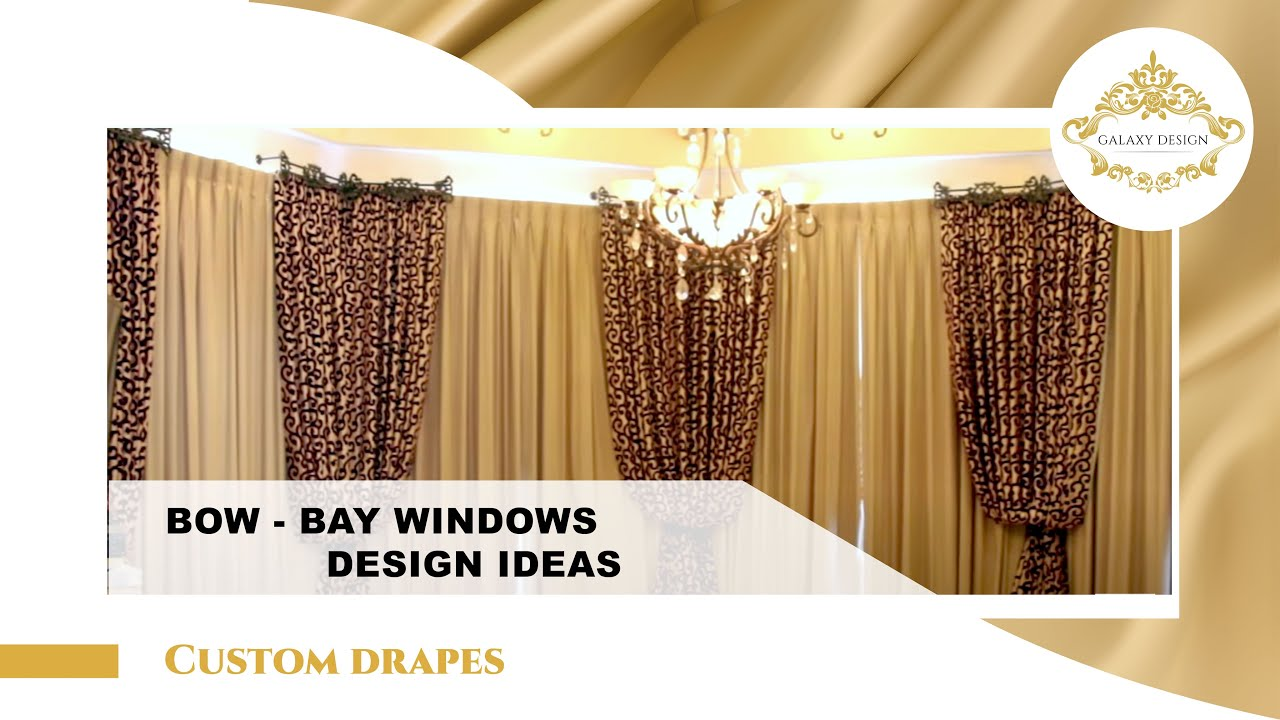 Video 4 How To Install Drapes In Bay Windows Bay