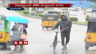 Heavy rains causes massive traffic jams in Hyderabad