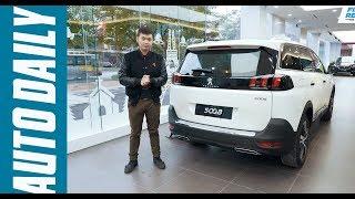 Chi tiết Peugeot 5008 hoàn toàn mới: Đối thủ của Honda CR-V 5+2 tại Việt Nam |AUTODAILY.VN|