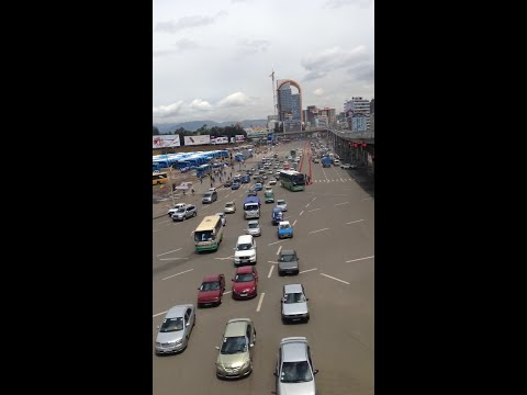 Addis Ababa Traffic Time-laps Video
