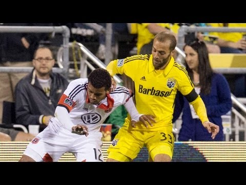 HIGHLIGHTS: Columbus Crew vs DC United | April 27, 2013