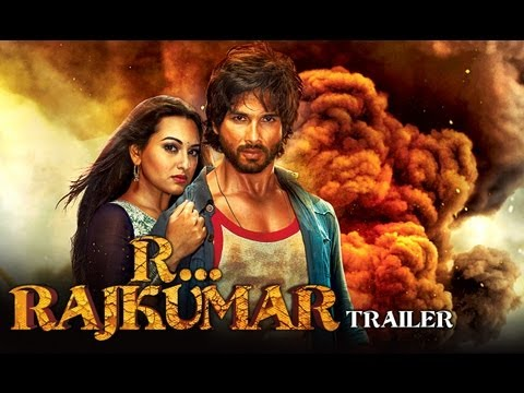 R...Rajkumar - Official Theatrical Trailer | Shahid Kapoor Sonakshi...