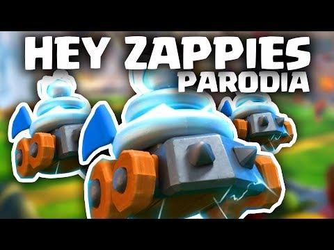 HEY ZAPPIES | HEY DJ (PARODIA DE CLASH ROYALE) | Hey Dj - Cnco ft. Yandel | GiovaGames