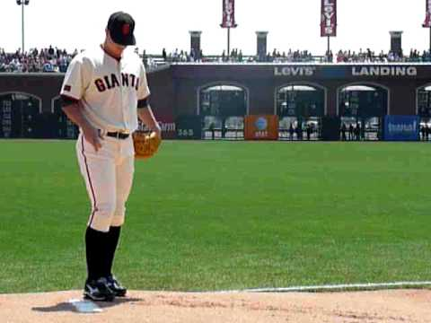 Matt Cain Pitching/Warming Up