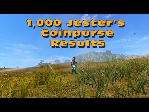 ArcheAge 1000 Jester Coinpurse With Quicksilver Tonic Results