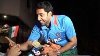 Aishwarya, Abhishek & Amitabh Bachchan Celebrating World Cup 2011 Win - Bollywood Interviews