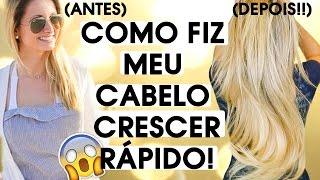 COMO FAZER SEU CABELO CRESCER MUITO RÁPIDO!! | HOW TO GROW YOUR HAIR FAST!