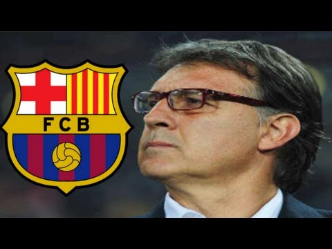 Gerardo Martino Welcome to Barcelona!