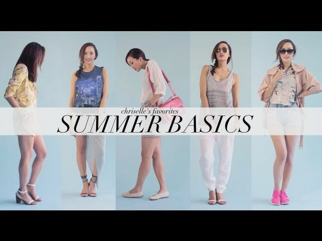 My Favorite Summer Basics