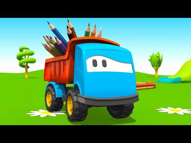смотреть мультик раскраску про тракторы весь сборник