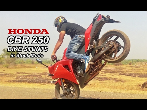 Amazing Honda CBR 250 Stunts of 2017 - Wheelies _ Driffting - Stoppie - Burnout