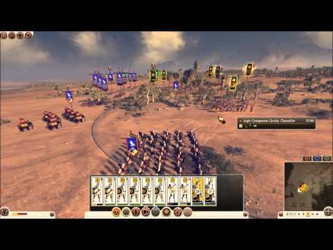 Total War: Rome 2 Online Battle #0148: Macedon vs Egypt (live-commentary)