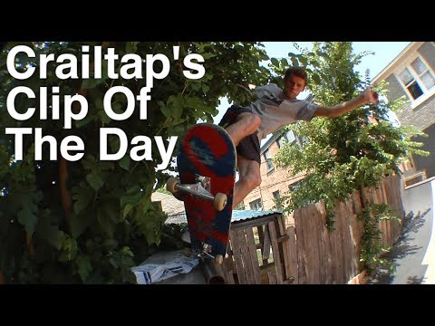 Crailtap's Clip of The Day: OKC Ramp Session