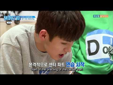 [ENG] Produce 101 Season 2 EP 3   Call Me Baby Team 1&2 cut