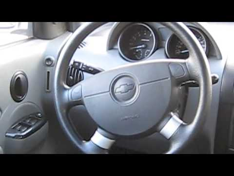 2005 Chevrolet Aveo Start Up, Engine, and Full Tour