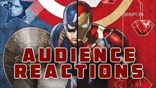 Captain America : Civil War | Audience Reactions | May Premiere 2016 {SPOILERS}