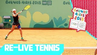 RE-LIVE   Day 07: Tennis   Youth Olympic Games 2018  Buenos Aires