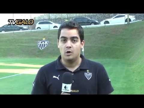 15/09/2014 Atlético inicia preparação para enfrentar o Goiás