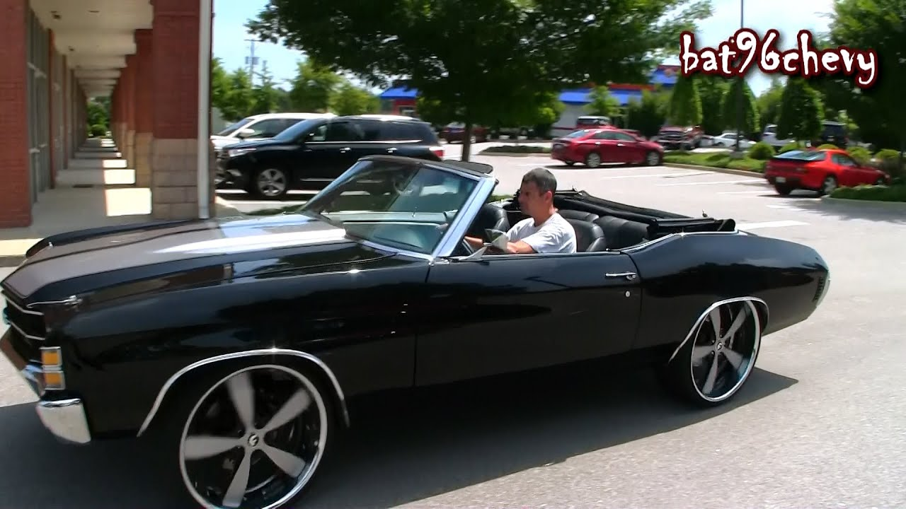 ULTIMATE AUDIO 71 Chevelle SS On 24 Forgiatos LS3 CTS