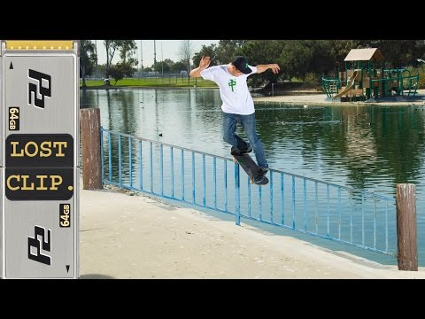 Scott Decenzo Lost & Found Skateboarding Clip #89 Plan B TRUE