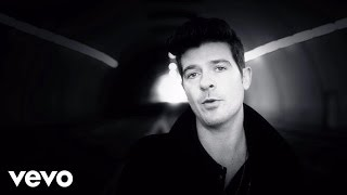 Watch Robin Thicke Exhale (shoop Shoop) video