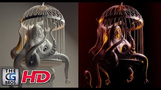 """CGI 3D Modeling : """"The Making of the """"Evil Octopus"""" by - Lightfarm Studios 