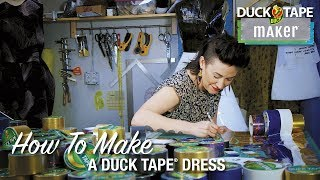 How to Make a Duck Tape® Dress