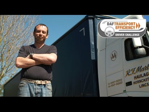 DAF Transport Efficiency Driver Challenge - Meet the Finalists: Simon May