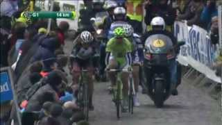 Fabian Cancellara attacks on Paterberg