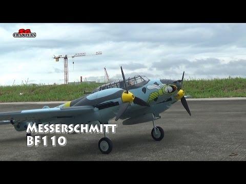 Dynam Messerschmitt BF-110 1500mm 59