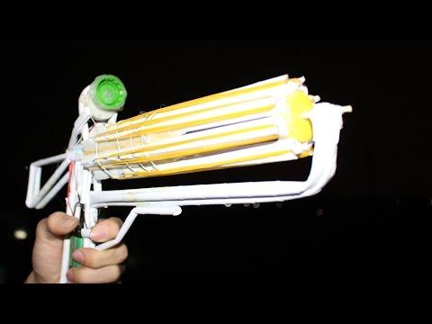 วิธีที่จะทำให้ปืนกระดาษที่หน่อ   32 วงยาง