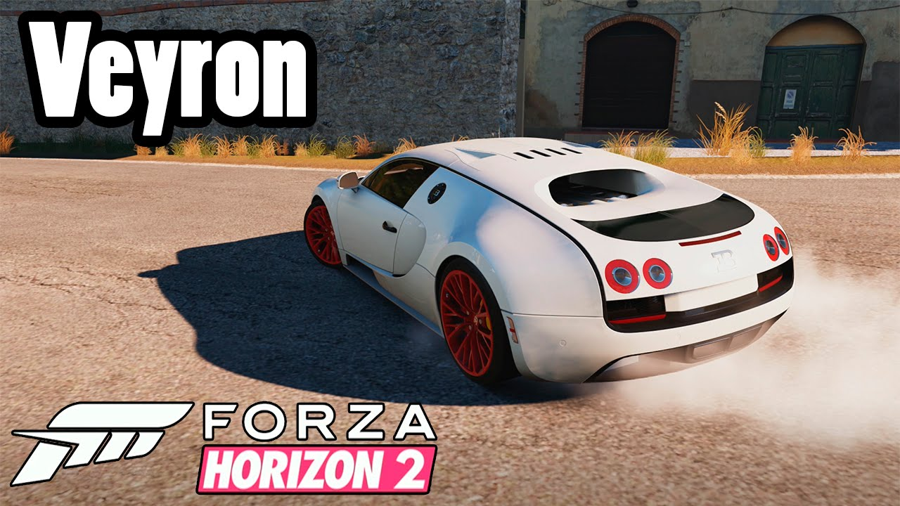 forza horizon 2 bugatti veyron youtube. Black Bedroom Furniture Sets. Home Design Ideas