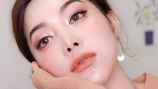 ENG) Warm Neutral & Orange Makeup / 누디누디한 어륀지 메이크업🍊(인스타그램 요청!!)