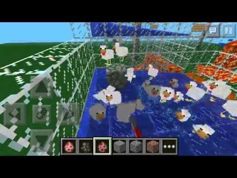 Chicken Minecraft pe Minecraft pe Chicken Farm And