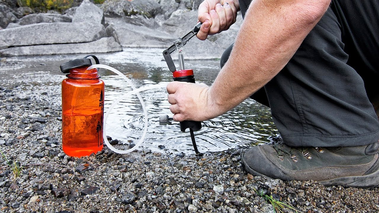 How To Purify Water For Drinking Camping Youtube