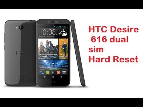 htc desire 616 hard reset