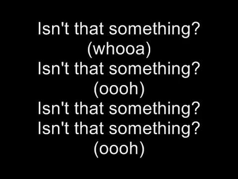 Ray Toro - Isn't That Something - Lyrics