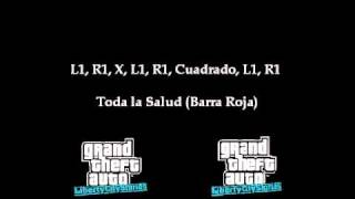 Trucos para el Gta Liberty City Stories PSP