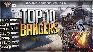 INSANE CLIP WITH NEW CAMO & 7 ONSCREEN!! (BO3 TRICKSHOTS AND FEEDS) - TOP 10 BANGERS #53