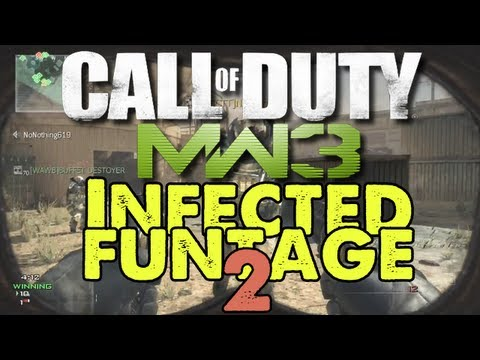MW3 - INFECTED FUNTAGE 2! (Modern Warfare 3)