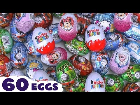 Biggest Toys Opening Surprise Eggs Video Thomas And Friends Cars Peppa Pig Lego Kinder Dinosaur video