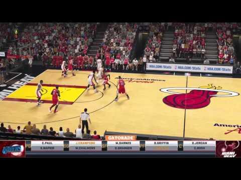 Los Angeles Clippers x Miami Heat - NBA - NBA2k15 - PS4