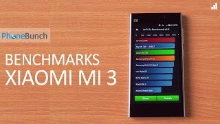 Xiaomi Mi 3 Benchmarks