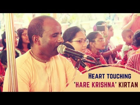 Heart touching 'Hare Krishna' Kirtan || HG Mahasankirtan Das