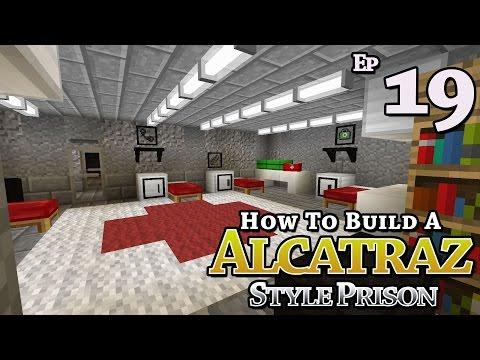 Alcatraz Style Prison :: How To Build :: Minecraft :: E19 :: Z One N Only