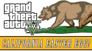 "Grand Theft Auto 5 | Secret ""California License Plate"" Easter Egg! (GTA 5 Easter Eggs)"