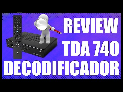 REVIEW - DECODIFICADOR TV DIGITAL TDA UTE 740 - www.logeek.net